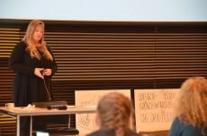 Lynn van der Velden fra det hollandske indenrigsministerium