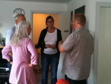 Projektgruppen arbejder med metoderne og sikrer relevans og forståelse for deltagernes hverdag. Metodedagen blev afholdt på KaløVig Center.
